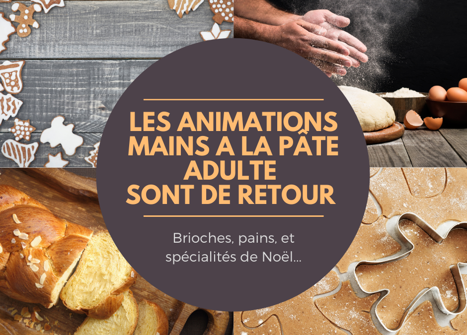 Les animations mains à la pâte