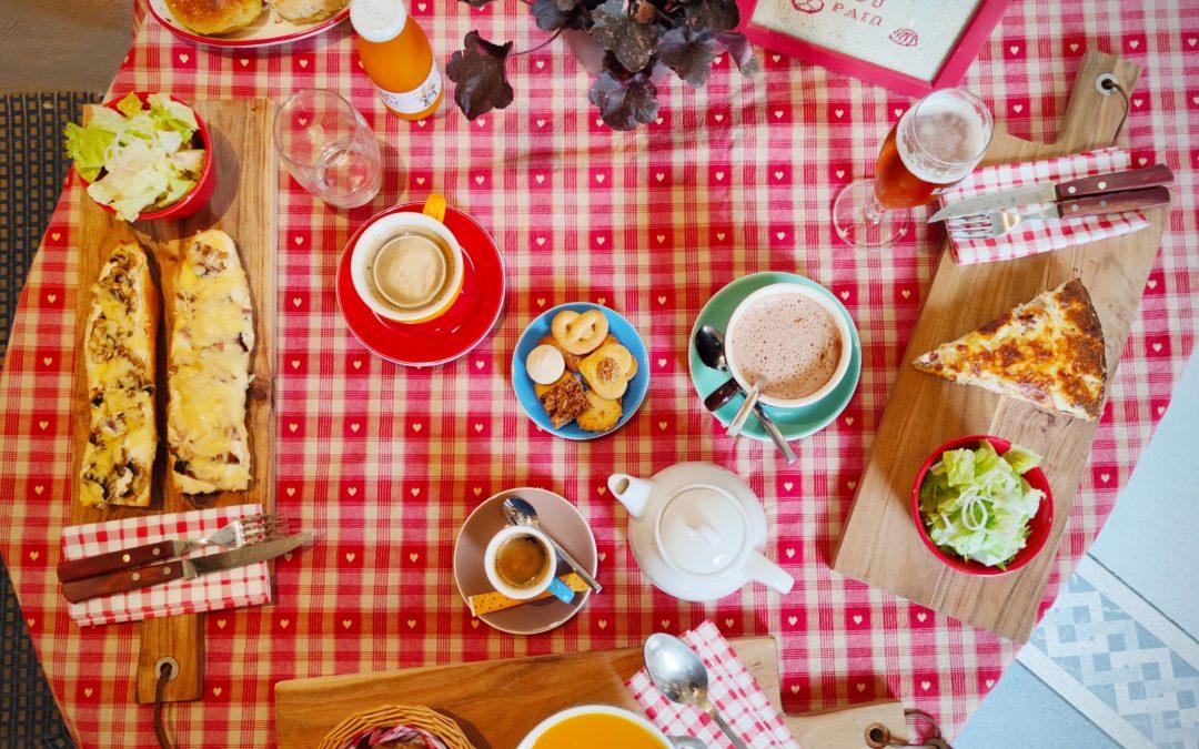 Saison d'hiver, restauration d'hiver dans votre Maison du pain d'Alsace