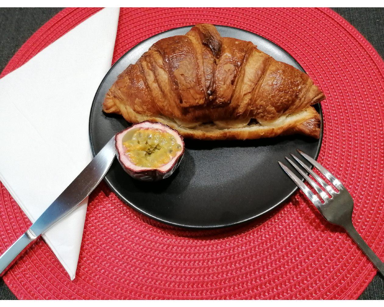 Le croissant gourmand, une recette de la Maison du pain d'Alsace