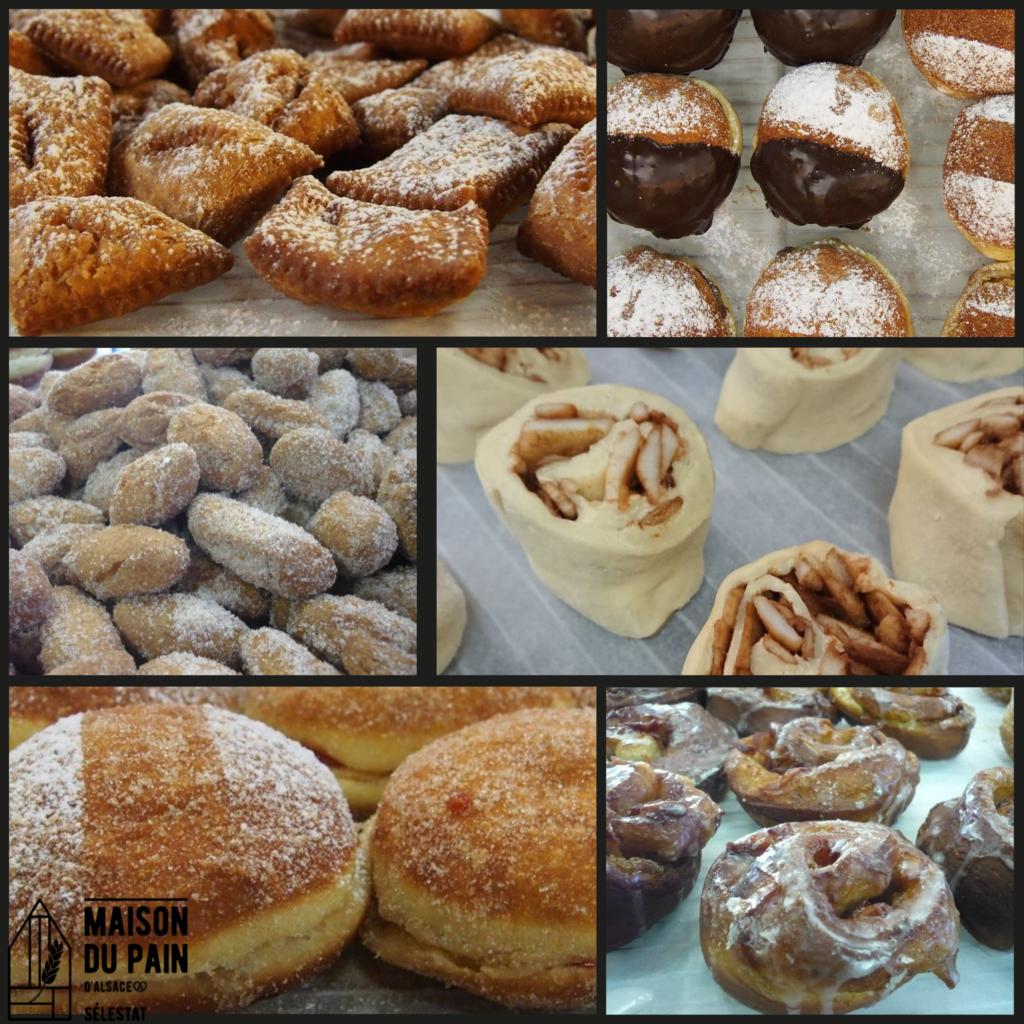 les beignets - Maison du pain d'Alsace